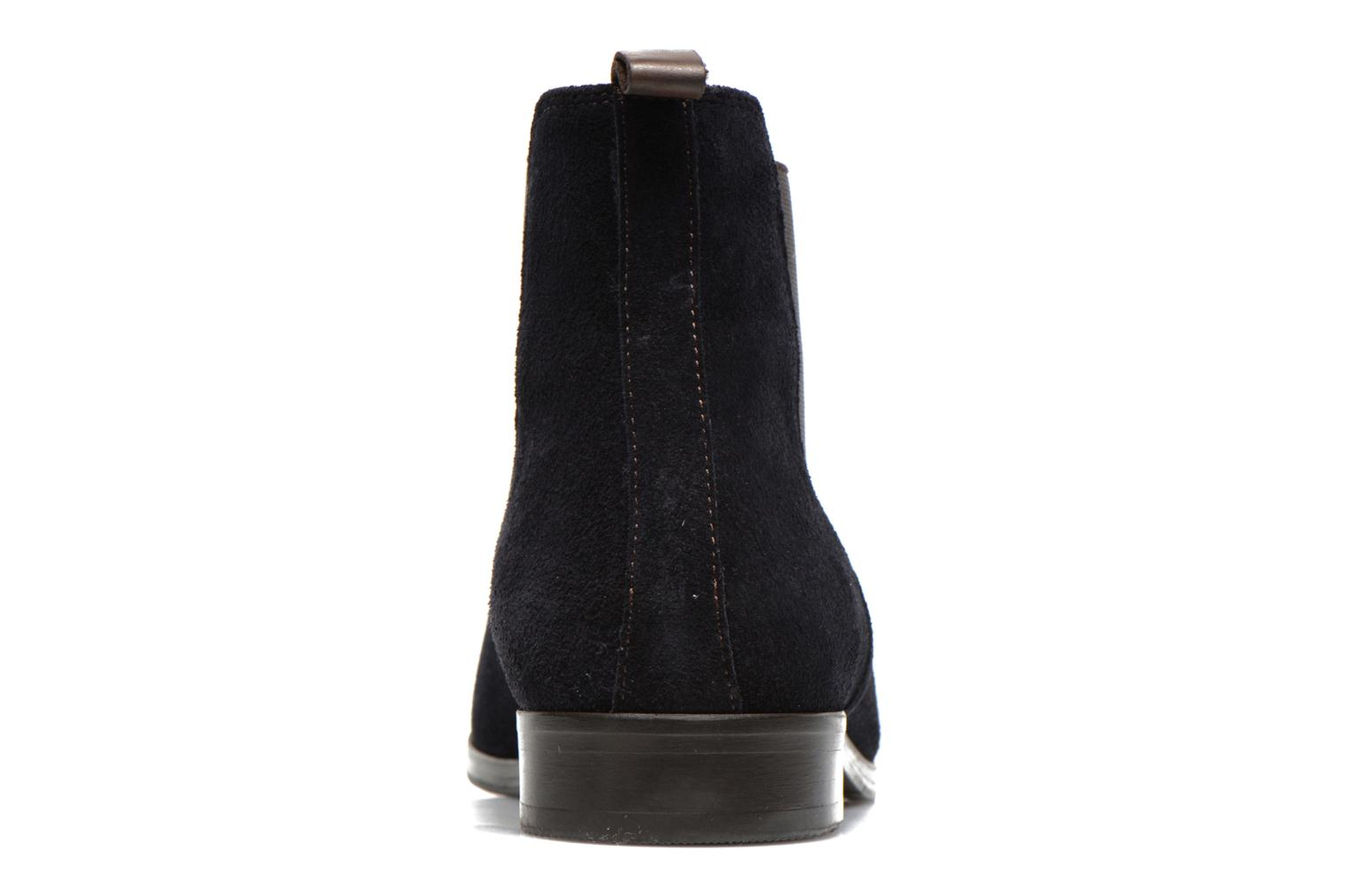 Ankle boots Brett & Sons Blaure Blue view from the right