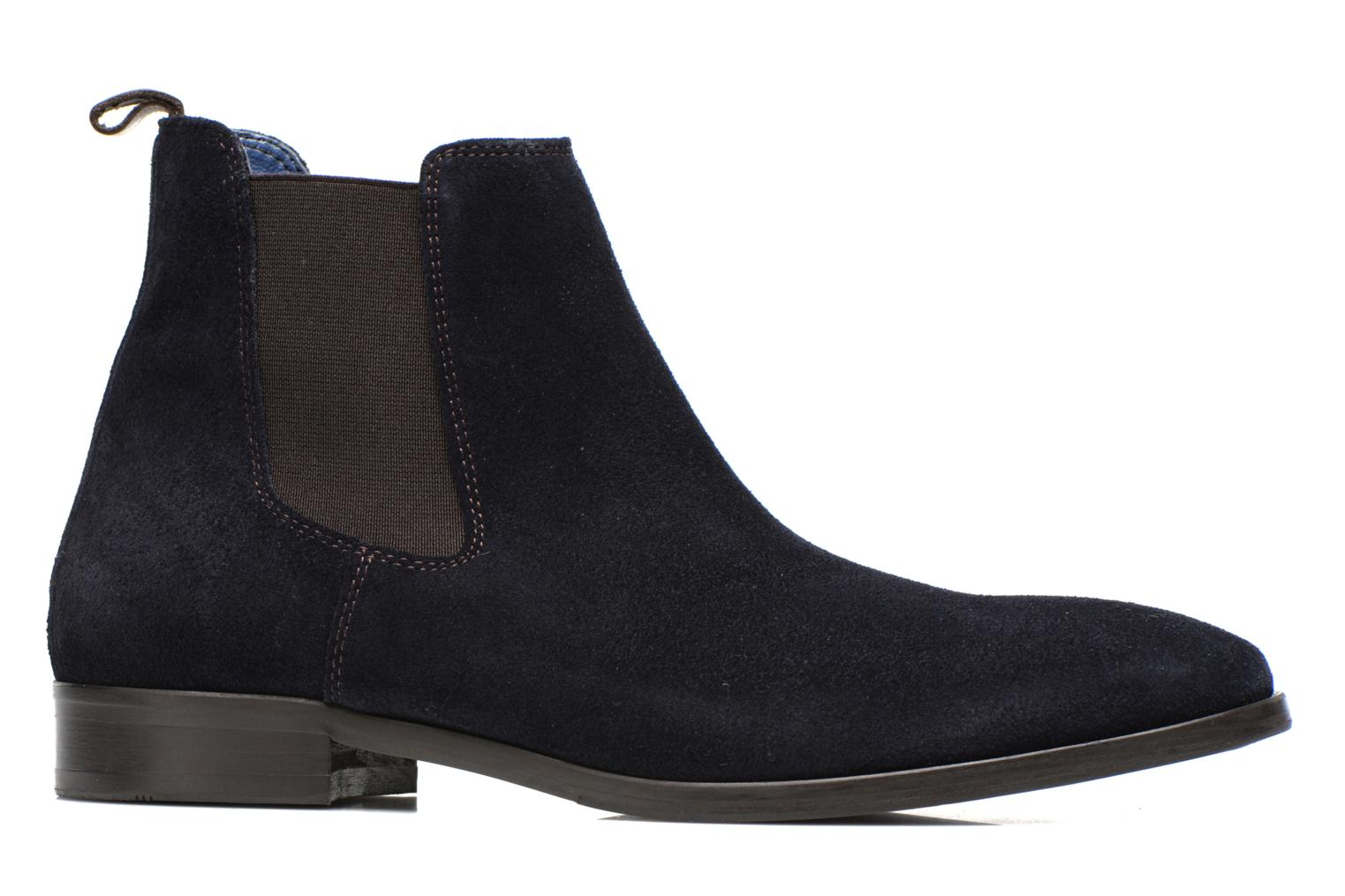 Ankle boots Brett & Sons Blaure Blue back view