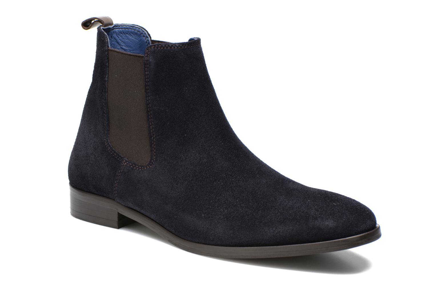 Ankle boots Brett & Sons Blaure Blue detailed view/ Pair view