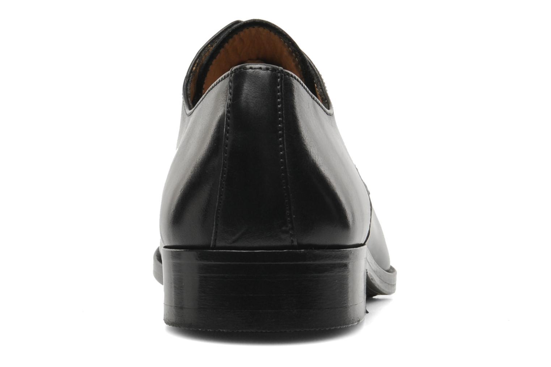 Snörade skor Brett & Sons Bari Svart Bild från höger sidan