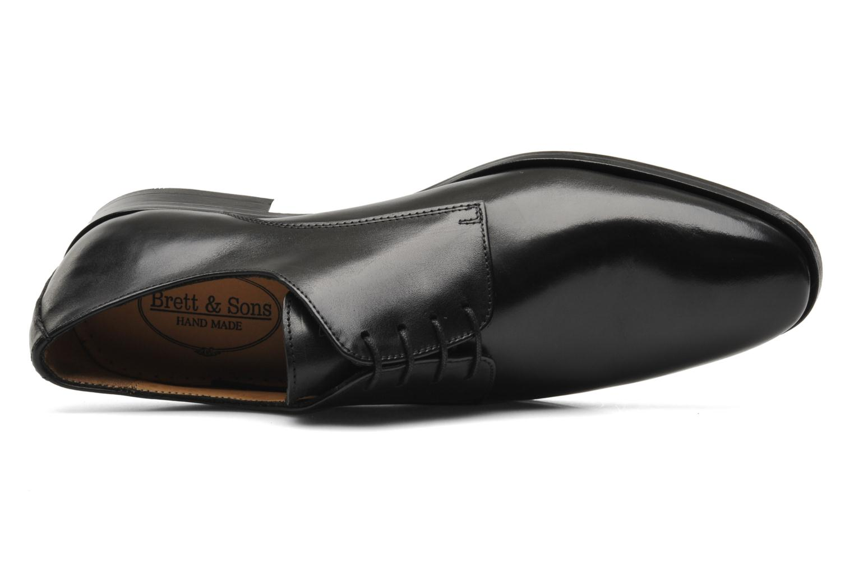 Chaussures à lacets Brett & Sons Bari Noir vue gauche