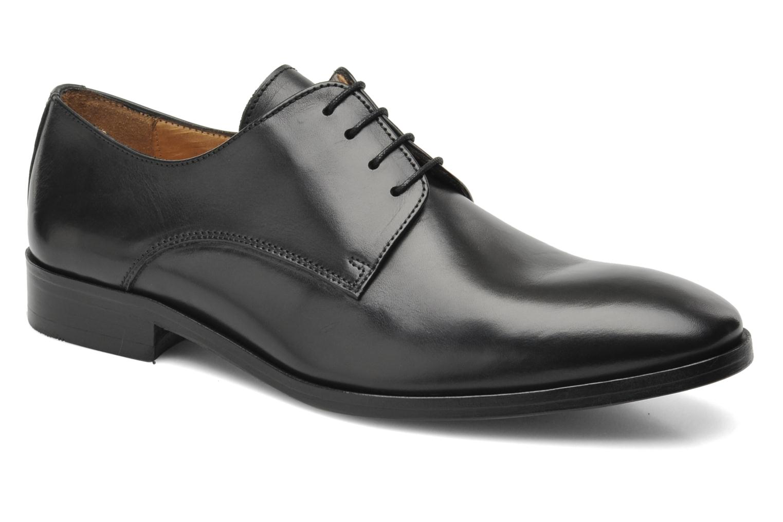 Chaussures à lacets Brett & Sons Bari Noir vue détail/paire