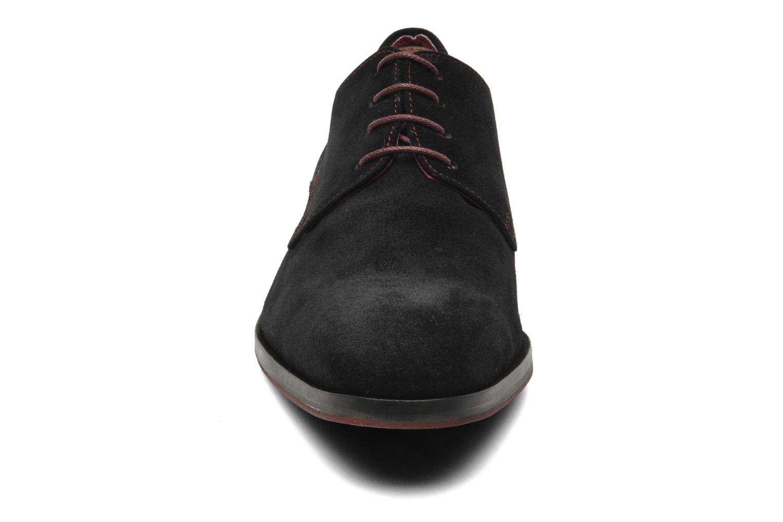 Schnürschuhe Brett & Sons Bari schwarz schuhe getragen