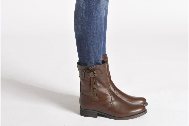 Stiefeletten & Boots Steve Madden Artic braun ansicht von unten / tasche getragen
