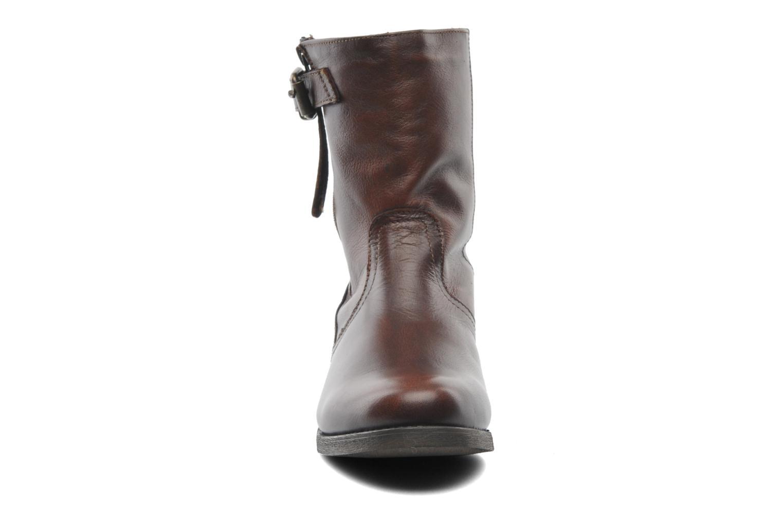 Stiefeletten & Boots Steve Madden Artic braun schuhe getragen