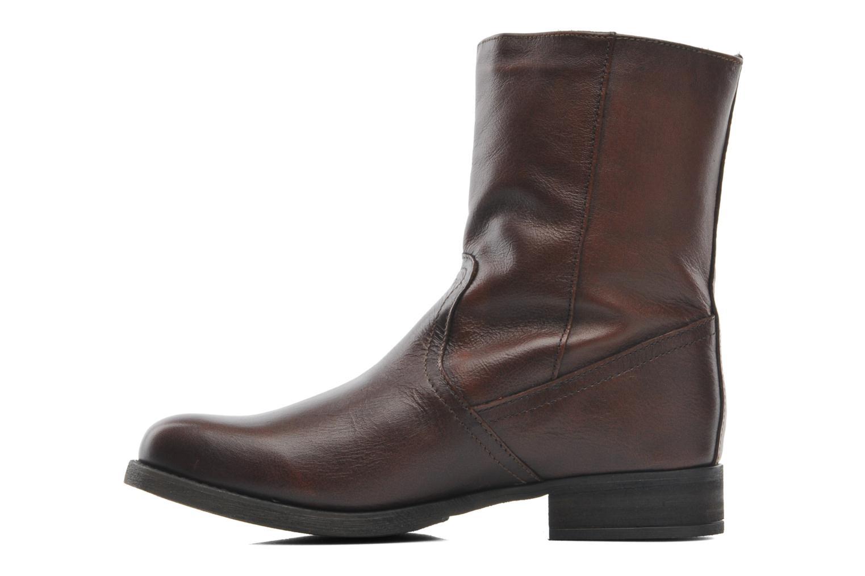 Stiefeletten & Boots Steve Madden Artic braun ansicht von vorne