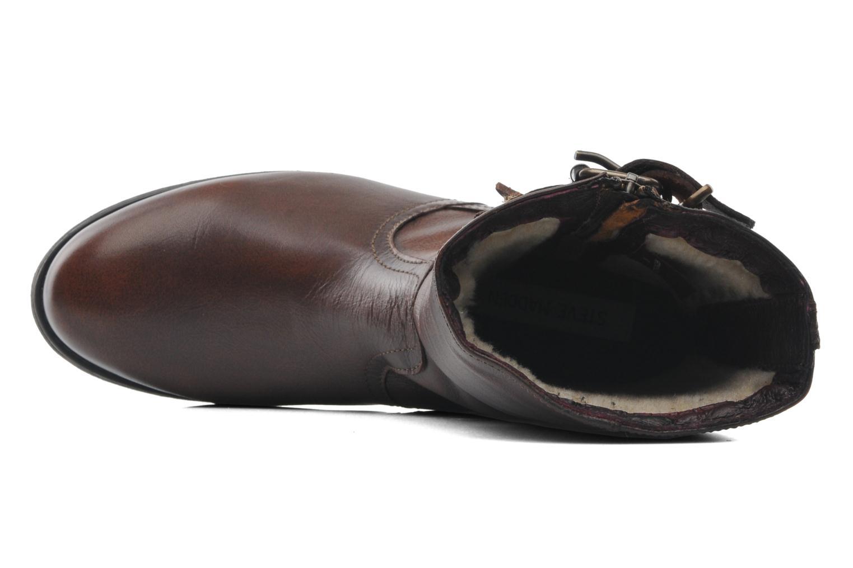 Stiefeletten & Boots Steve Madden Artic braun ansicht von links