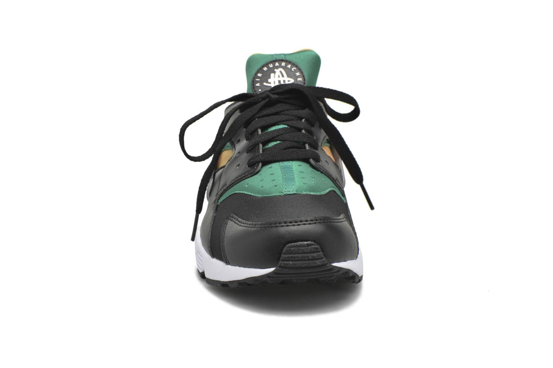 Sneaker Nike Nike Air Huarache schwarz schuhe getragen