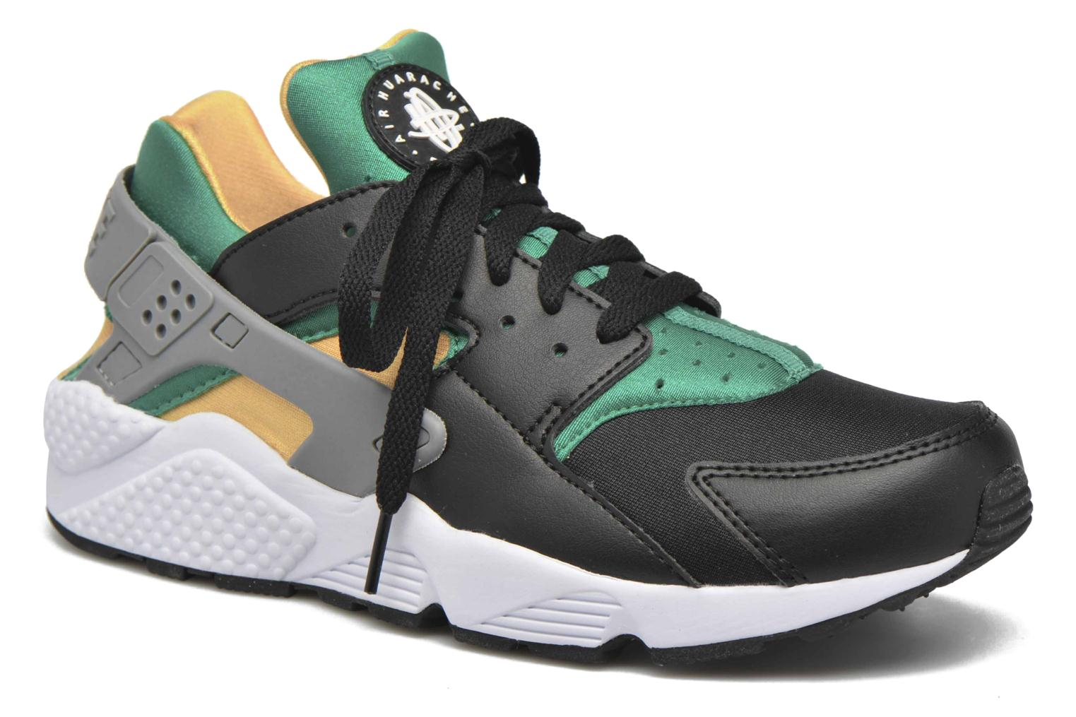 Nike Air Huarache Black/White-Emerald-Resin