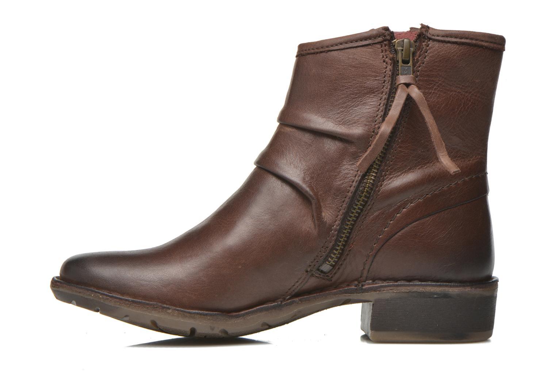 Bottines et boots Kickers Groove Soft Marron vue face