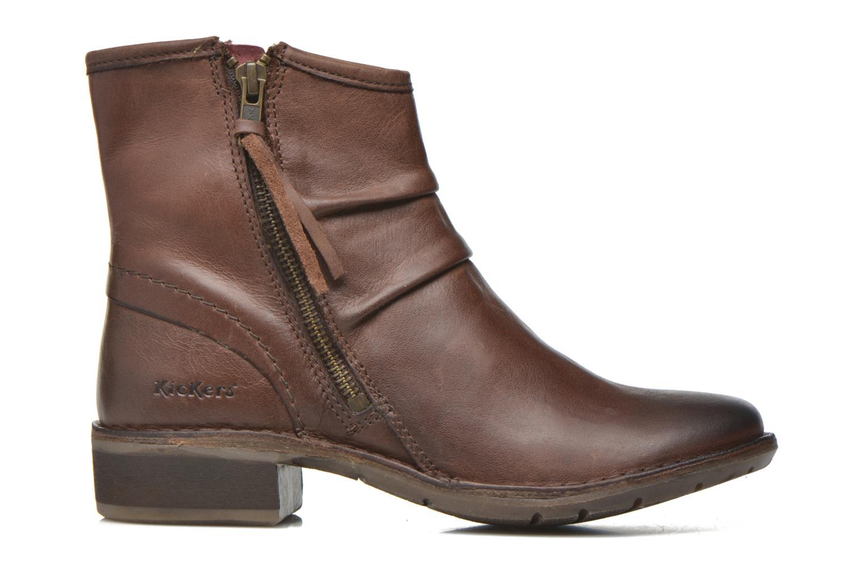Boots en enkellaarsjes Kickers Groove Soft Bruin achterkant