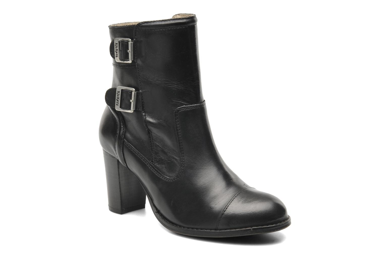 Bottines et boots Kickers Medix Noir vue détail/paire