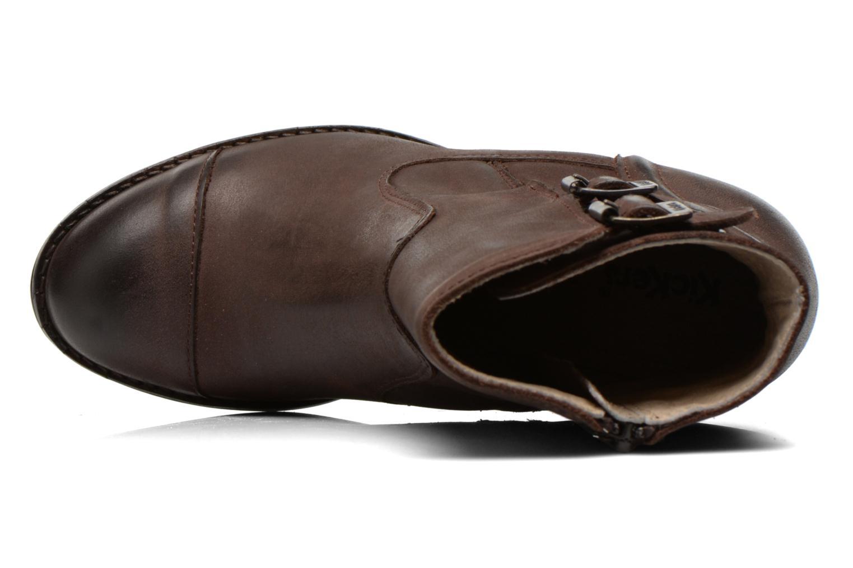 Boots en enkellaarsjes Kickers Medix Bruin links