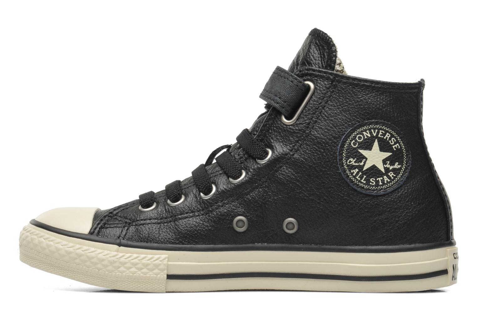 Sneakers Converse Chuck Taylor All Star Strap Hi Sort se forfra