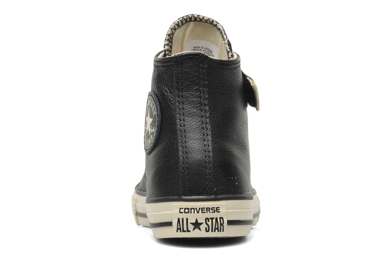 Sneakers Converse Chuck Taylor All Star Strap Hi Svart Bild från höger sidan