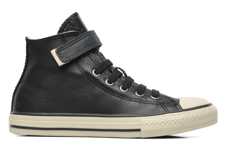Sneakers Converse Chuck Taylor All Star Strap Hi Zwart achterkant