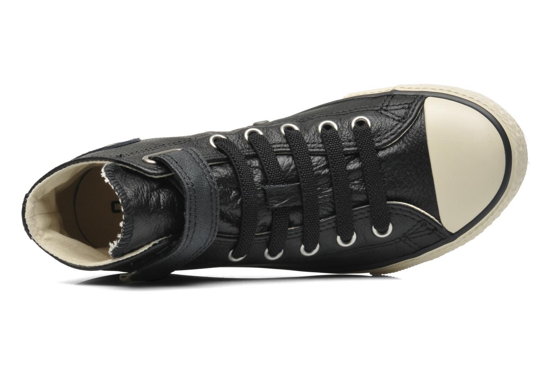 Sneakers Converse Chuck Taylor All Star Strap Hi Sort se fra venstre