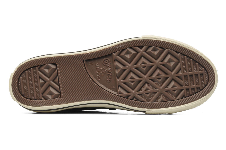 Sneakers Converse Chuck Taylor All Star Strap Hi Zwart boven