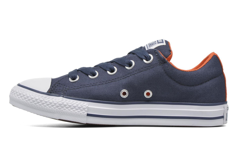 Sneaker Converse Chuck Taylor Street Slip blau ansicht von vorne