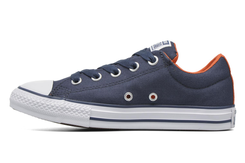 Sneakers Converse Chuck Taylor Street Slip Azzurro immagine frontale
