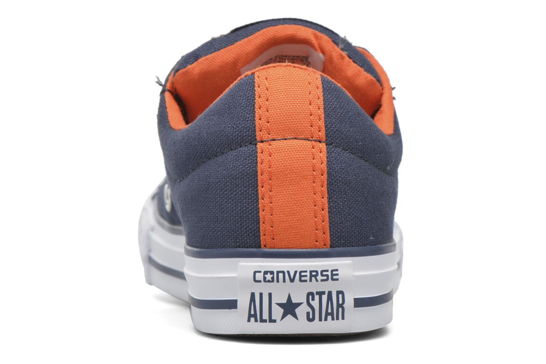 Baskets Converse Chuck Taylor Street Slip Bleu vue droite