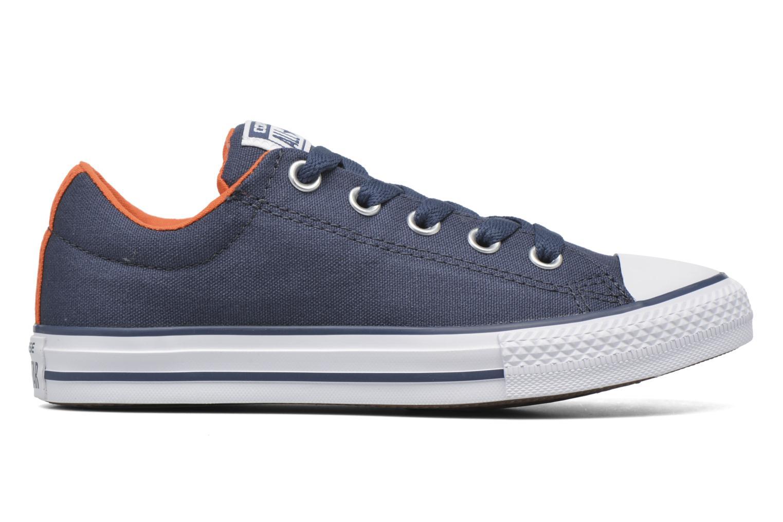Sneaker Converse Chuck Taylor Street Slip blau ansicht von hinten