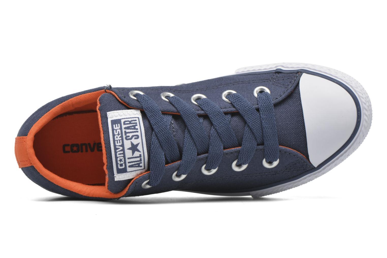Baskets Converse Chuck Taylor Street Slip Bleu vue gauche