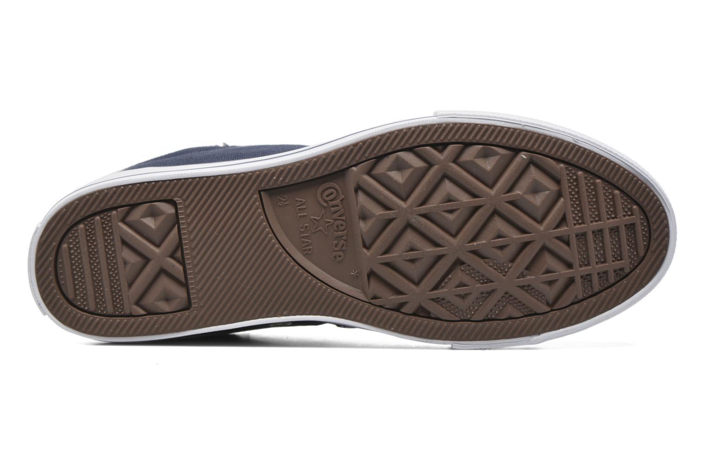 Sneakers Converse Chuck Taylor Street Slip Azzurro immagine dall'alto