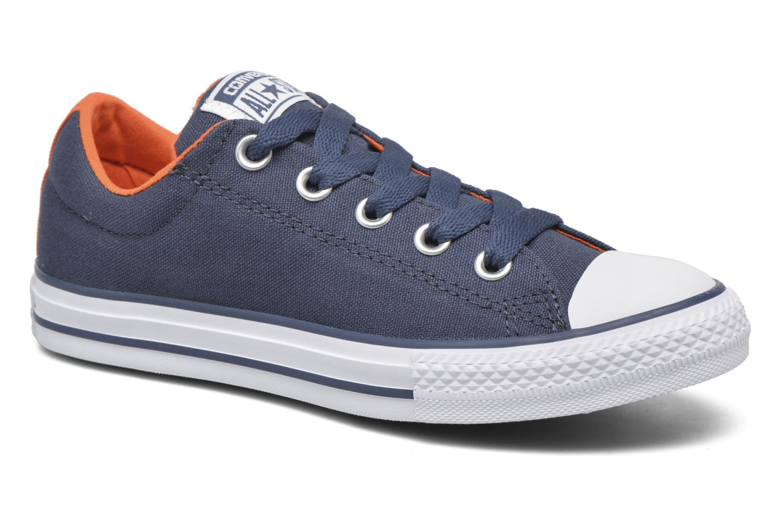 Trainers Converse Chuck Taylor Street Slip Blue detailed view/ Pair view