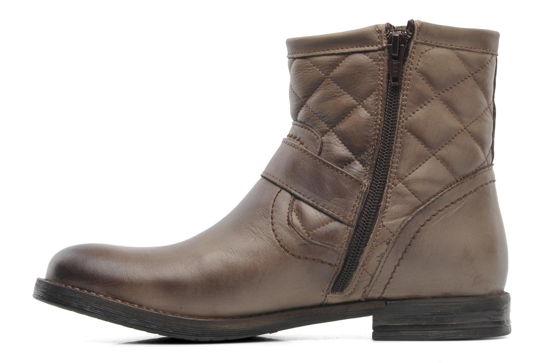 Bottines et boots Mustang shoes Atilda Gris vue face