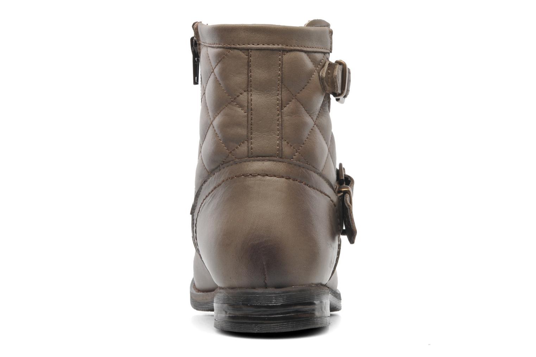 Bottines et boots Mustang shoes Atilda Gris vue droite