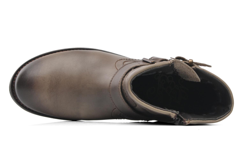 Bottines et boots Mustang shoes Atilda Gris vue gauche