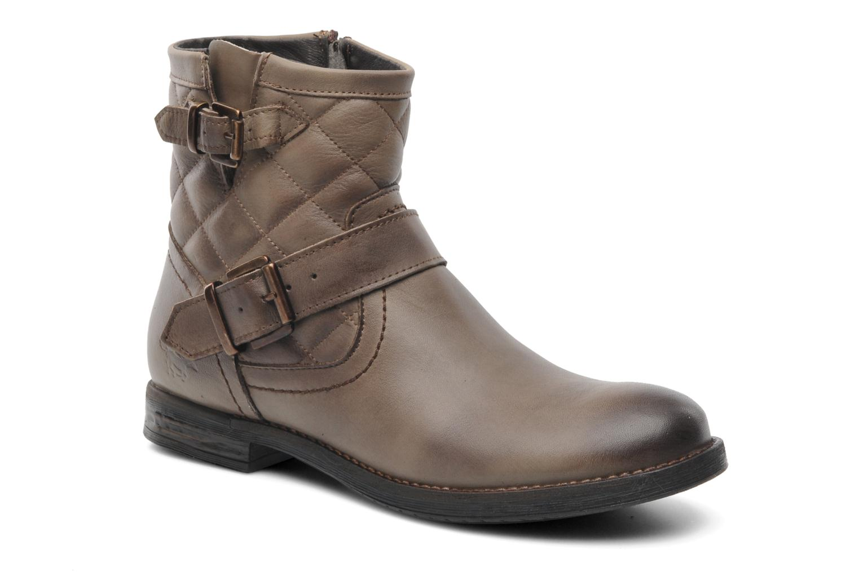 Bottines et boots Mustang shoes Atilda Gris vue détail/paire