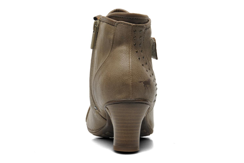 Bottines et boots Mustang shoes Ibline Beige vue droite