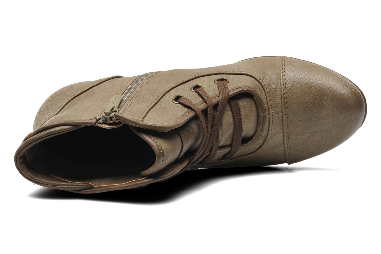 Bottines et boots Mustang shoes Ibline Beige vue gauche