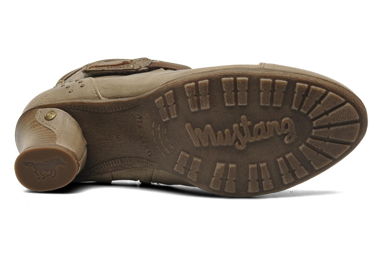 Bottines et boots Mustang shoes Ibline Beige vue haut
