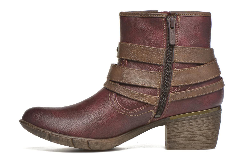 Bottines et boots Mustang shoes Heïra Bordeaux vue face