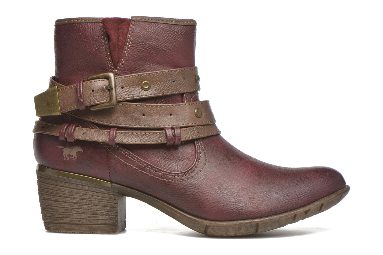 Bottines et boots Mustang shoes Heïra Bordeaux vue derrière