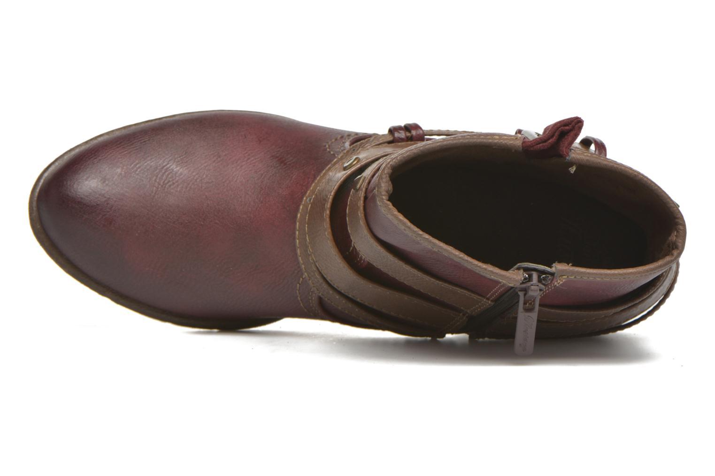 Bottines et boots Mustang shoes Heïra Bordeaux vue gauche