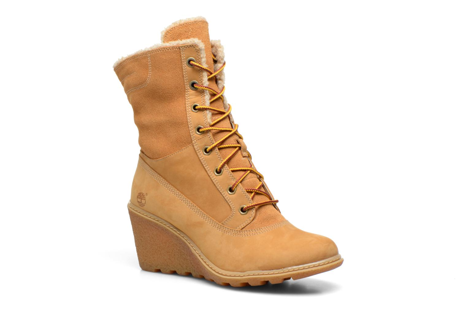 Ankle boots Timberland Earthkeepers Amston Roll-Top Beige 3/4 view