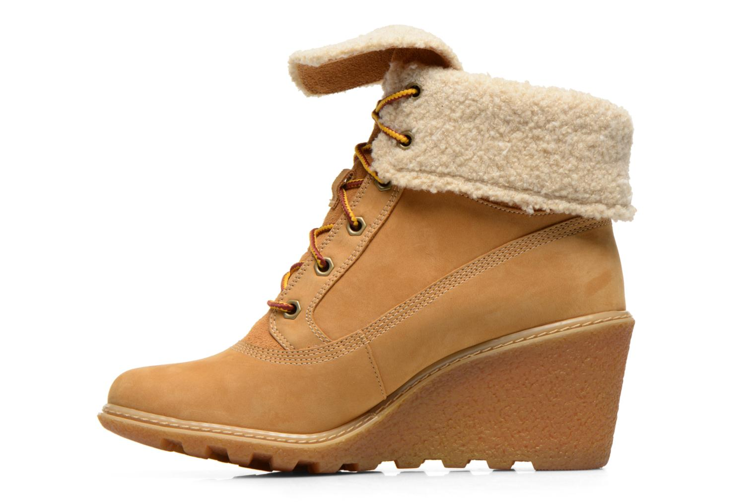 Bottines et boots Timberland Earthkeepers Amston Roll-Top Beige vue face