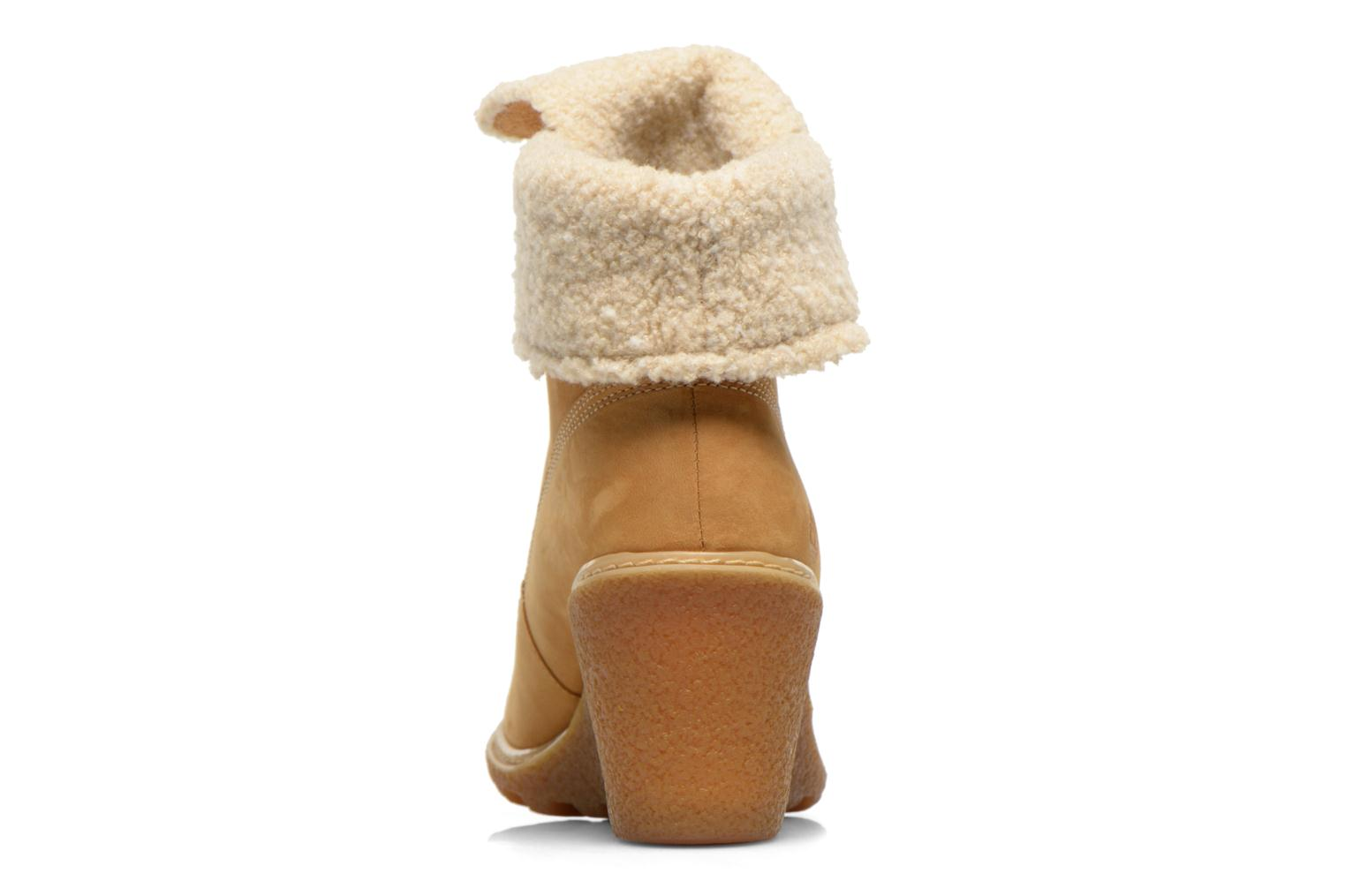 Ankle boots Timberland Earthkeepers Amston Roll-Top Beige view from the right