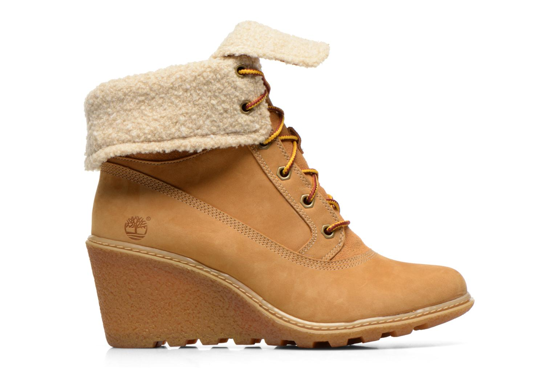 Stiefeletten & Boots Timberland Earthkeepers Amston Roll-Top beige ansicht von hinten