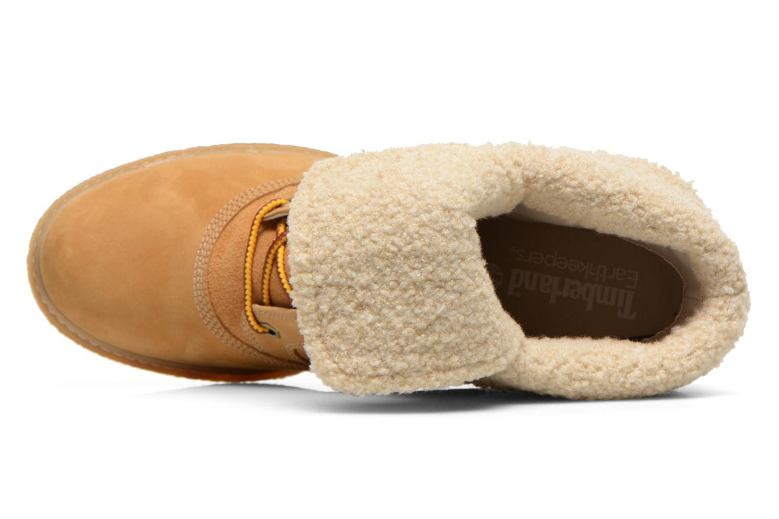 Ankle boots Timberland Earthkeepers Amston Roll-Top Beige view from the left