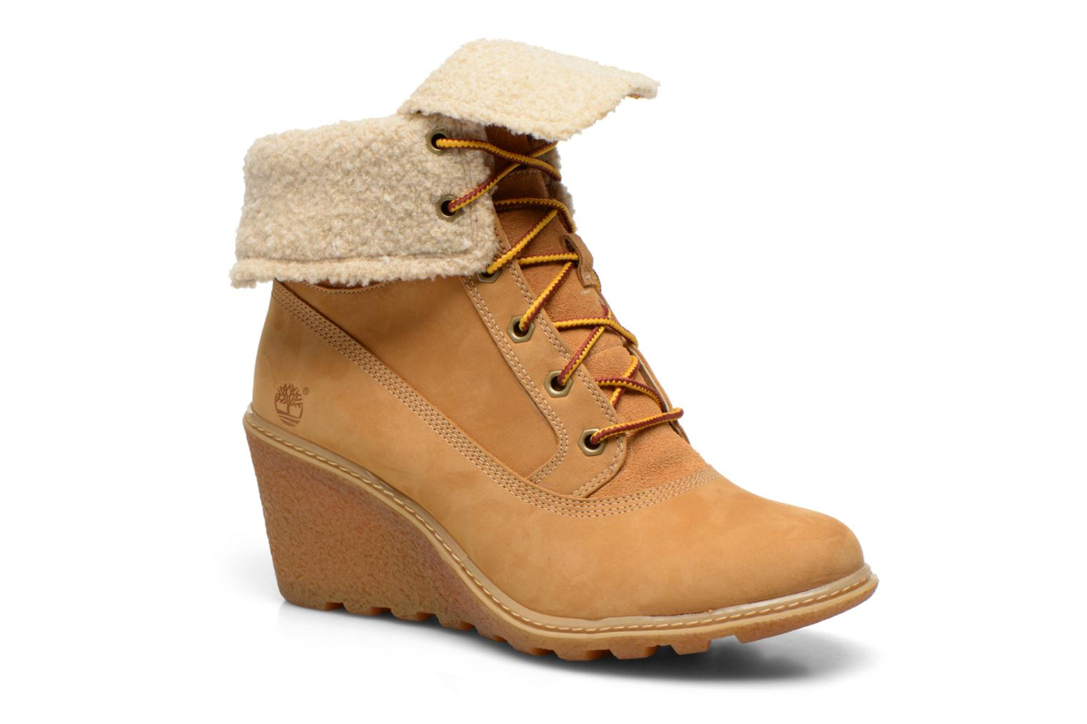 Stiefeletten & Boots Timberland Earthkeepers Amston Roll-Top beige detaillierte ansicht/modell