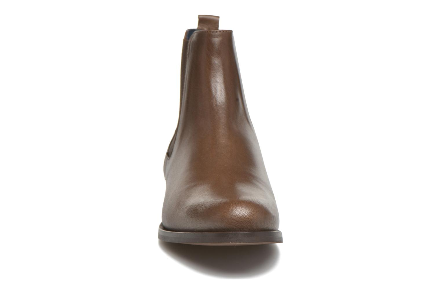 Ankle boots PintoDiBlu Broche Brown model view
