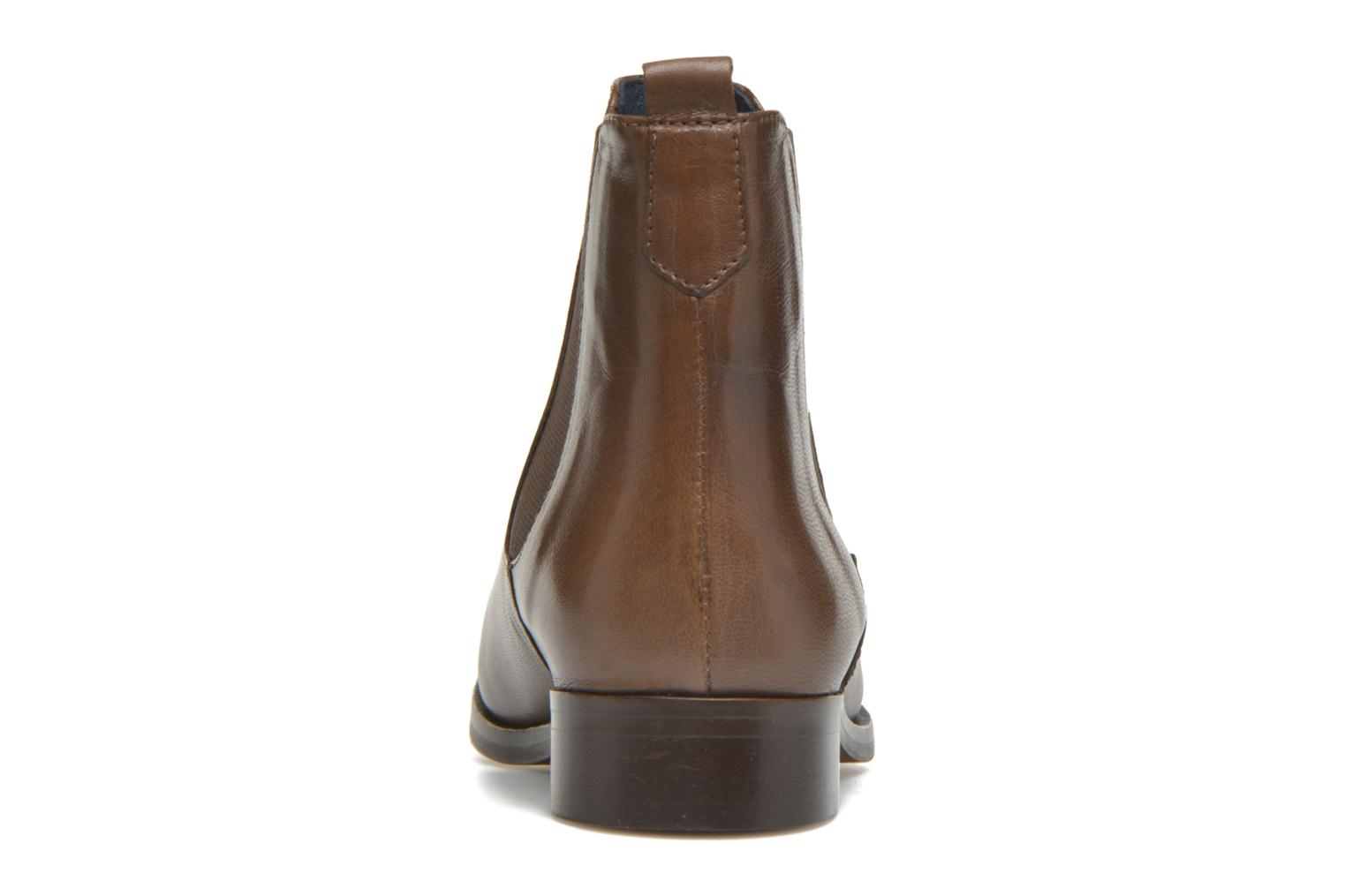 Ankle boots PintoDiBlu Broche Brown view from the right