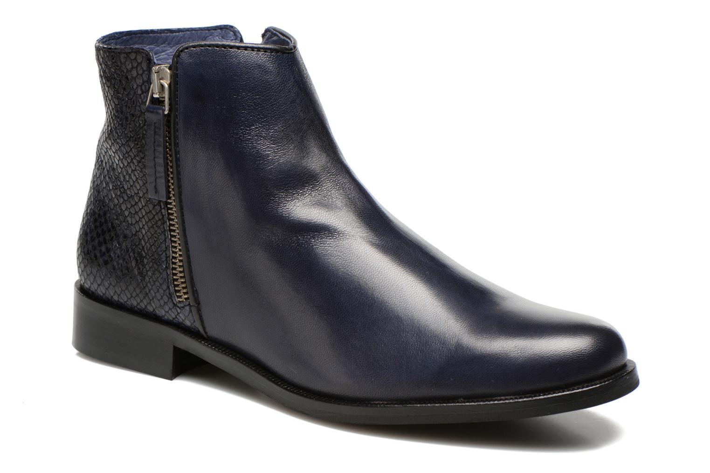 Boots en enkellaarsjes PintoDiBlu Marmara Blauw detail