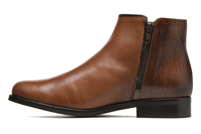 Boots en enkellaarsjes PintoDiBlu Marmara Bruin voorkant