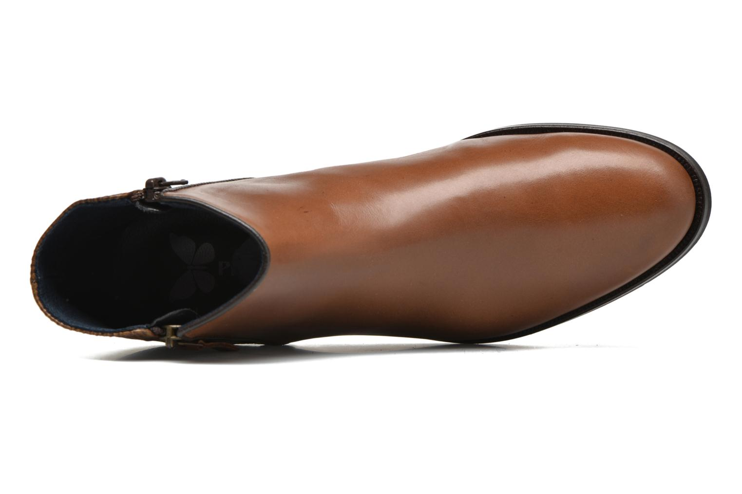 Ankle boots PintoDiBlu Marmara Brown view from the left